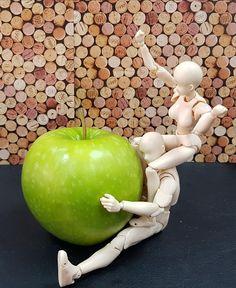 at the big apple