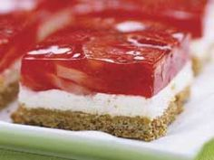 Strawberry Pretzel Salad   Recipe courtesy Paula Deen  www.foodnetwork.com/recipes/paula-deen/strawberry-pretzel-salad-recipe