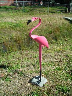 Elegant Flamingo Bird PVC by dadelight on Etsy