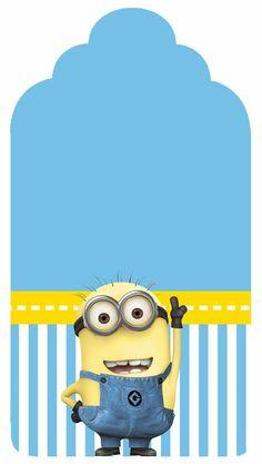 ★ Brilliant Blue ★ Despicable Me Free Printable Candy Bar Labels. Image Minions, Minions Love, My Minion, Minion Stuff, Minion Theme, Minion Birthday, Boy Birthday, Happy Birthday, Birthday Parties