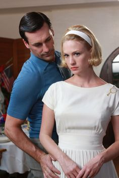 Betty Draper's beautiful tennis dress. I love the pleating of the skirt and the gathered bust.