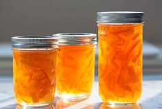 Homemade Meyer Lemon Marmalade, only 3 ingredients! No added pectin needed! Seville Orange Marmalade, Orange Marmalade Recipe, Lemon Marmalade, Orange Jam, Sour Orange, Jam Recipes, Canning Recipes, Drink Recipes, Recipies
