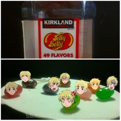 This is awesomeness like just imagine having Jelly Beans that have Iggy's face on them