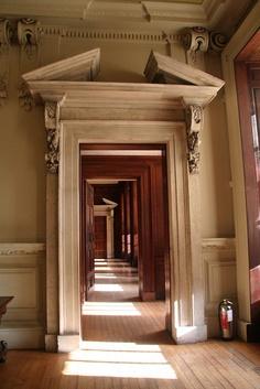 Door frame. Hampton Court Palace.