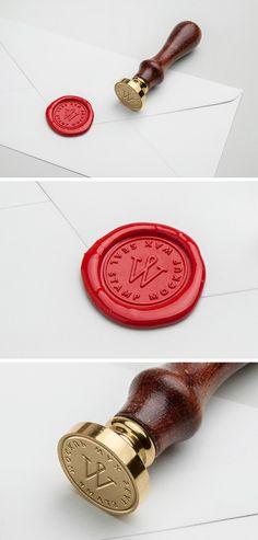 Sello de la cera en PSD MockUp - IC Diseño Grafico