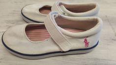 Ralph Lauren White Shoes Size 10