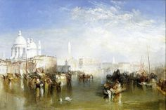 Joseph Mallord William Turner - Venice from the Giudecca [1840]