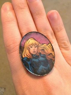 Black Canary Ring by TheGeekForge on Etsy, $7.00