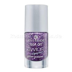 essence - nail art twins reloaded glitter topper - 02 julia - Cosmetics & False Eyelashes
