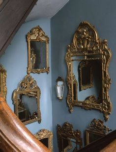 Mirrors as wall art