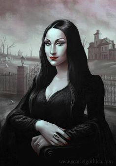 "Morticia ""Mona Lisa"" Addams??"