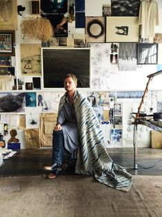 An artist and his studio