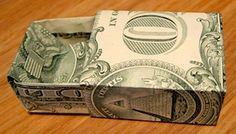 Origami Dollar Box