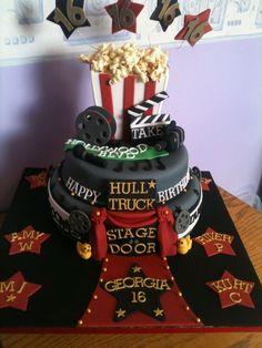 Wow! Movie theater cake!