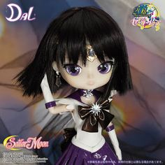 Muñeca Dal de Sailor Saturn, #sailormoon #pullip #dolls