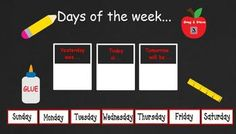 August 2012 Back to School Kindergarten calendar for ActivBoard. Includes calendar, weather, days of the week, months of the year,