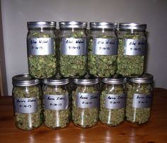 Cannabis buds curing in mason jars Medical Marijuana Project Idea Cannabis and Mary Jane Info and How How to To Make Marijuana Edibles: Growing Weed, Cannabis Shop, Thc Oil, Buy Cannabis Online, Buy Weed Online, Cbd Oil For Sale, Ganja, Kitchens, Medical Marijuana