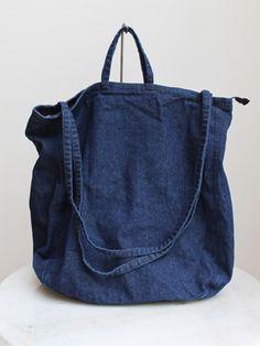 Denim bag - love this style. making it tonight Denim bag - love this style. making it tonight