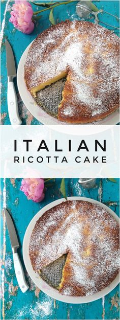 Italian Ricotta Cake Recipe   CiaoFlorentina.com @CiaoFlorentina