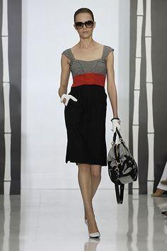 Gucci Resort 2008 Fashion Show - Yana Karpova