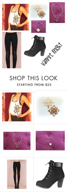 """""""Vampire Knight Day :33"""" by lexi-stough ❤ liked on Polyvore featuring Yuki and Amanda Vinci"""