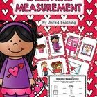 The Valentine Measurement learning center provides children with the opportunity to practise measuring Valentine objects using non-standard units of measurement. The activity contains 6 colorful measuring cards (3 for height and 3 for width), printable heart rulers, and a worksheet for recording answers.