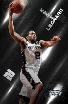 Trends International San Antonio Spurs Kawhi Leonard Wall Poster x x wall poster Officially licensed poster High Quality - Crystal clear image Printed on FSC-certified paper at FSC-certified printers Costco's brothers Posters Basketball Systems, Basketball Art, Basketball Leagues, Spurs Fans, Training Quotes, Nba Stars, San Antonio Spurs, Sports Posters, Lowes Bathroom
