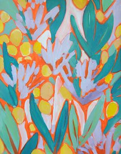 Trail of Inspiration: Sunday Flowers    (technically painting but ....)
