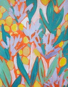 LULU DK flower painting
