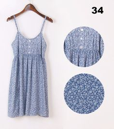 Gender: Women Dresses Length: Above Knee, Mini Sleeve Style: Spaghetti Strap Silhouette: A-Line Season: Summer Decoration: Button Style: Cute Waistline: Natural Material: Polyester Color : Multicolor Style: Fashion and slim women dress