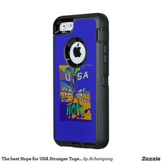The best Hope for USA Stronger Together OtterBox iPhone 6/6s Case  american presidential election 2016, for president, campaign #Stronger Together #Electronics Gifts