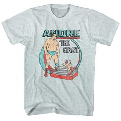 Andre The Giant: He Big T-Shirt