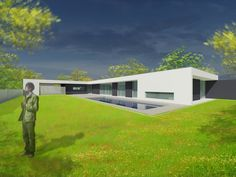 Perspective Extérieure - Maison V - 2011 #boarchitecture