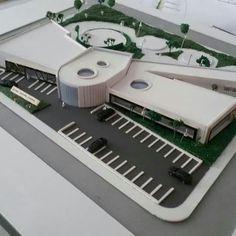 Maquette Architecture, Form Architecture, Hospital Architecture, Landscape Model, Arch Model, Concept Diagram, Square Meter, Arya, Composition