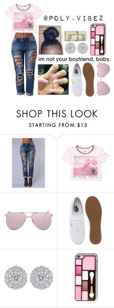 """""""Untitled #281"""" by xo-mindless ❤ liked on Polyvore featuring Billabong, Le Specs and Vans"""
