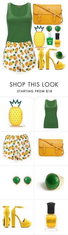 """Geen titel #275"" by dipske ❤ liked on Polyvore featuring Jigsaw, Forever 21, Elsa Peretti, Chinese Laundry and Deborah Lippmann"