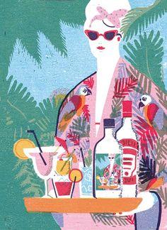 Never ending summer 3 by irene rinaldi, via Behance