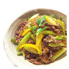 N703さんレシピより【牛肉と春雨の旨味炒め】ちょうど良い味付け、ご飯止まりませ〜ん♪ naoさんありがとうございました。