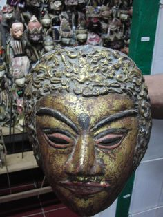 Bali is one of the last remaining places in Indonesia with a living tradition of the mask dance and the wayang theatre. The largest collection consisting of 5900 Asian masks and wayang puppets is located in Bali in the new Setia Darma House of Masks and Puppets.