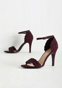 9c4d10f8925e Shoes - Have the World by Detail Heel in Garnet Burgundy Wedding Shoes