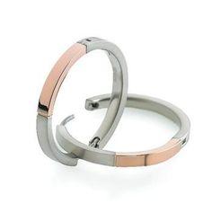 0517-08 Boccia Titanium Earrings