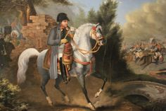 Napoleon in a white Horse