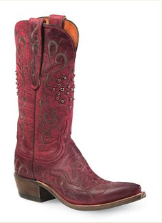 Now I love a good pump, but NOTHING beats the comfortableness and laid-back style of cowboy boots. Gosh I want these red ones.