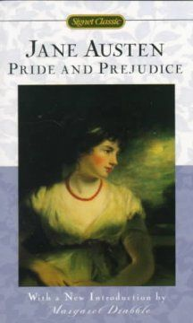 Human foibles and early nineteenth-century manners are satirized in this romantic tale of English country family life as Elizabeth Bennet and her four sisters are encouraged to marry well in order to keep the Bennet estate in their family.