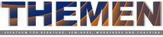 Niko Bayer, Seminare, Coaching, Themenübersicht, Leistungsübersicht, Spektrum, Seminarthemen, Bandbreite (Kopfzeile Website, Typo-Bearbeitung)