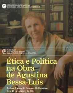 I Congresso Internacional do Círculo Literário Agustina Bessa-Luís > Notícias | CL AGUSTINA BESSA-LUÍS