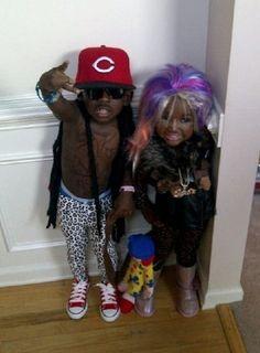 Lil Wayne  Nicki Minaj... I think I just fell out of my chair!