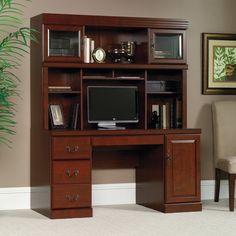 Sauder Heritage Hill Computer Credenza Desk with Optional Hutch - SDR886