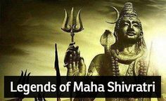 There are various interesting legends related to the festival of Maha Shivaratri. According to one of the most popular legends, Shivaratri marks the wedding day of Lord Shiva and Parvati. Some believe that it was on the auspicious night of Shivaratri that Lord Shiva performed the 'Tandava', the dance of the primal creation, preservation and destruction.