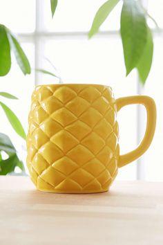 adorable pineapple mug